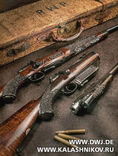 Оружие от компании Westley Richards. Журнал Калашников. DWJ