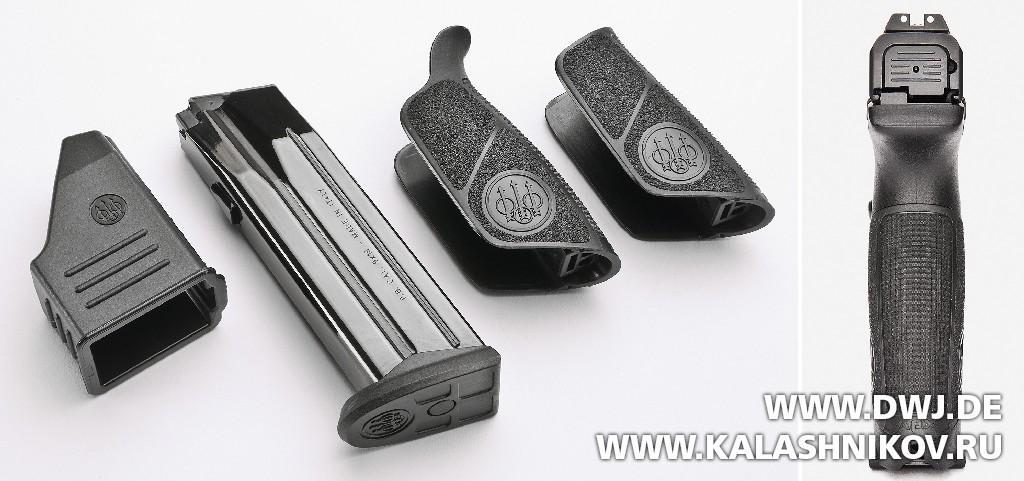 Пистолет Beretta APX. Комплект поставки. Журнал Калашников. DWJ