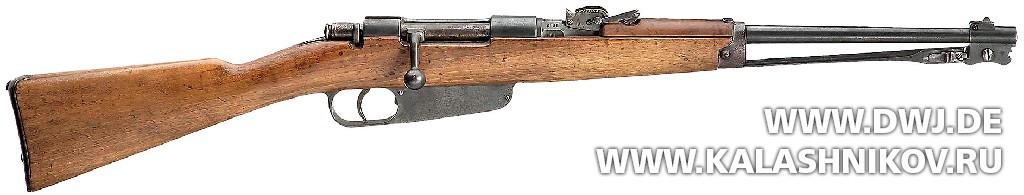 Карабин Carcano Model 1891. Журнал Калашников. DWJ