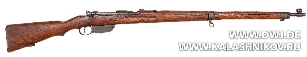 винтовка конструкции Манлихера 1895 г. . Журнал Калашников. DWJ
