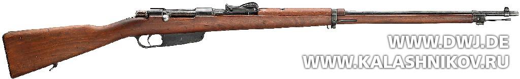 Винтовка Carcano Model 1891. Журнал Калашников. DWJ