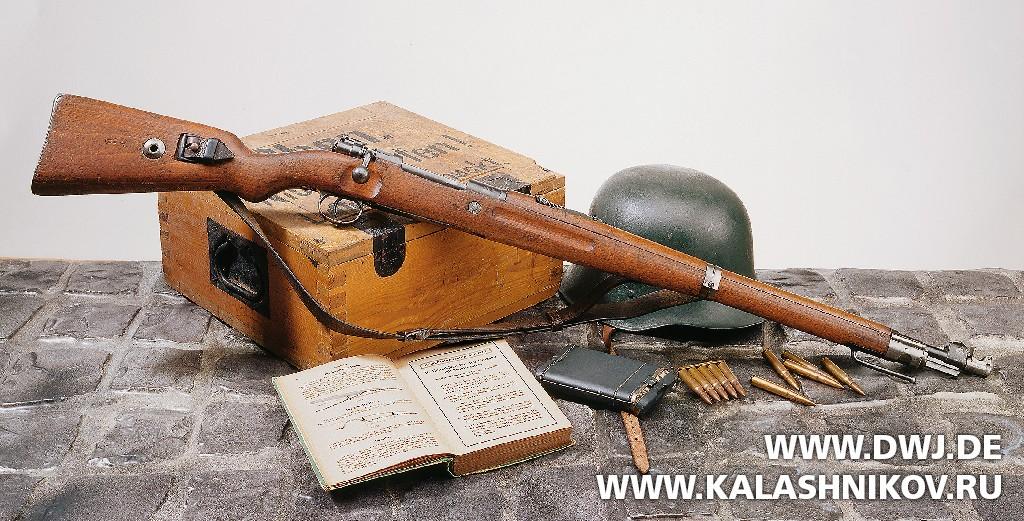 Немецкий карабин 98а. Журнал Калашников. DWJ
