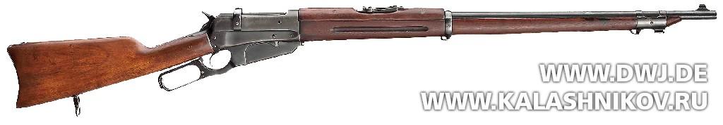 Мушкет Winchester Modell 1895. Журнал Калашников. DWJ