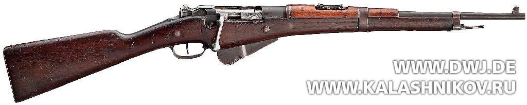 карабин Бертье М16 . Журнал Калашников. DWJ