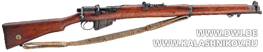 Винтовка Enfield Mk III (SMLE). Журнал Калашников. DWJ