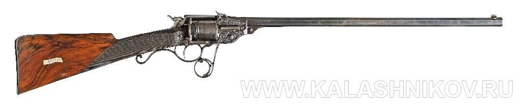 Револьверная винтовка Lambert Ghaye. Журнал Калашников