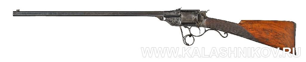 Револьверная винтовка Lambert Ghaye, вид слева. Журнал Калашников