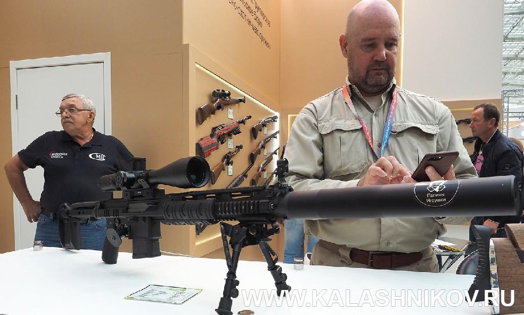 Полуавтомат от ЦКИБ СОО ОЦ-129 . Выставка Оружие и Охота Arms Hunting 2018. Журнал Калашников