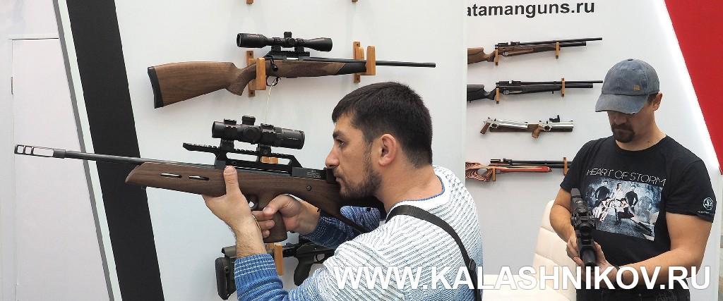 Стенд компании «Атаман». Выставка Оружие и Охота Arms Hunting 2018. Журнал Калашников
