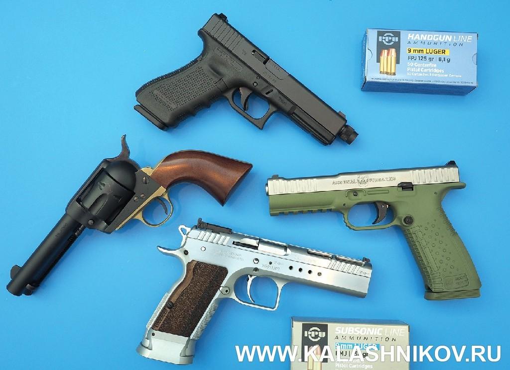 Strike, Tanfoglio, Glock, Pietta . Выставка Оружие и Охота Arms Hunting 2018. Журнал Калашников
