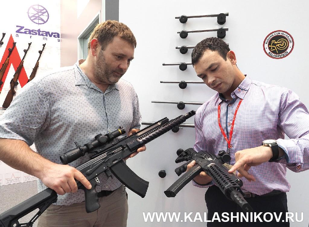 Стенд компании «Союз-ТМ». Выставка Оружие и Охота Arms Hunting 2018. Журнал Калашников
