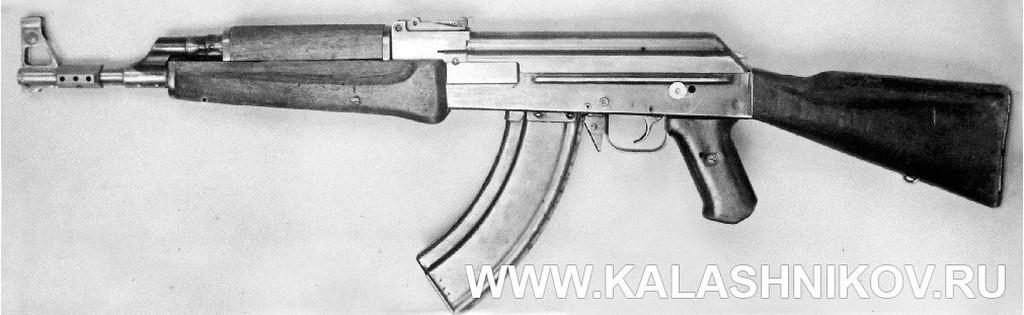Автомат Калашникова АК-47 №1 в отремонтированном и усовершенствованном виде. Журнал Калашников
