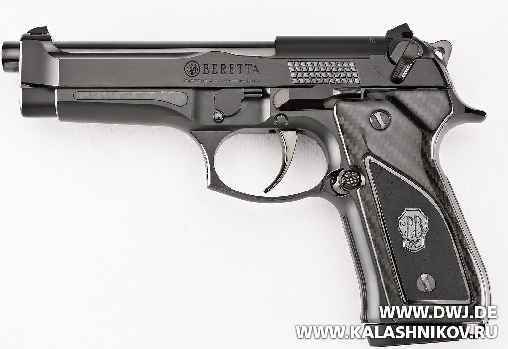 Пистолет Beretta 92FS Fusion Black. DWJ. Журнал Калашников
