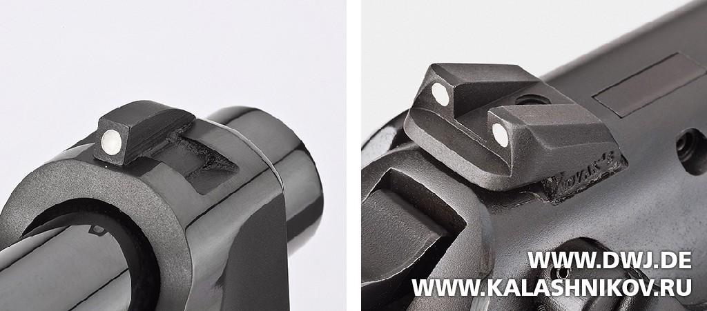 Пистолет Beretta 92FS Fusion Black. Прицельные приспособления. DWJ. Журнал Калашников