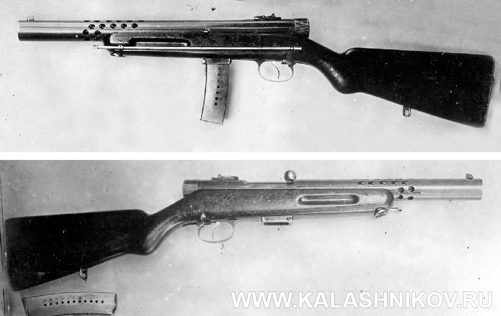 Пистолет-пулемёт Токарева № 1 (1931 г.). Журнал Калашников