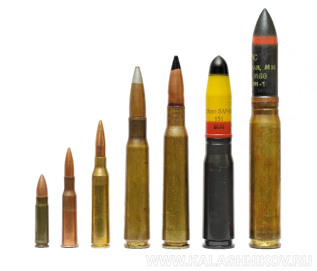 Система RT-20M1, боеприпасы. Журнал Калашников