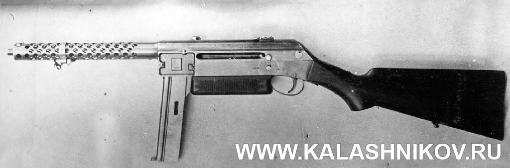 Пистолет-пулемёт Прилуцкого (1931 г.). Журнал Калашников