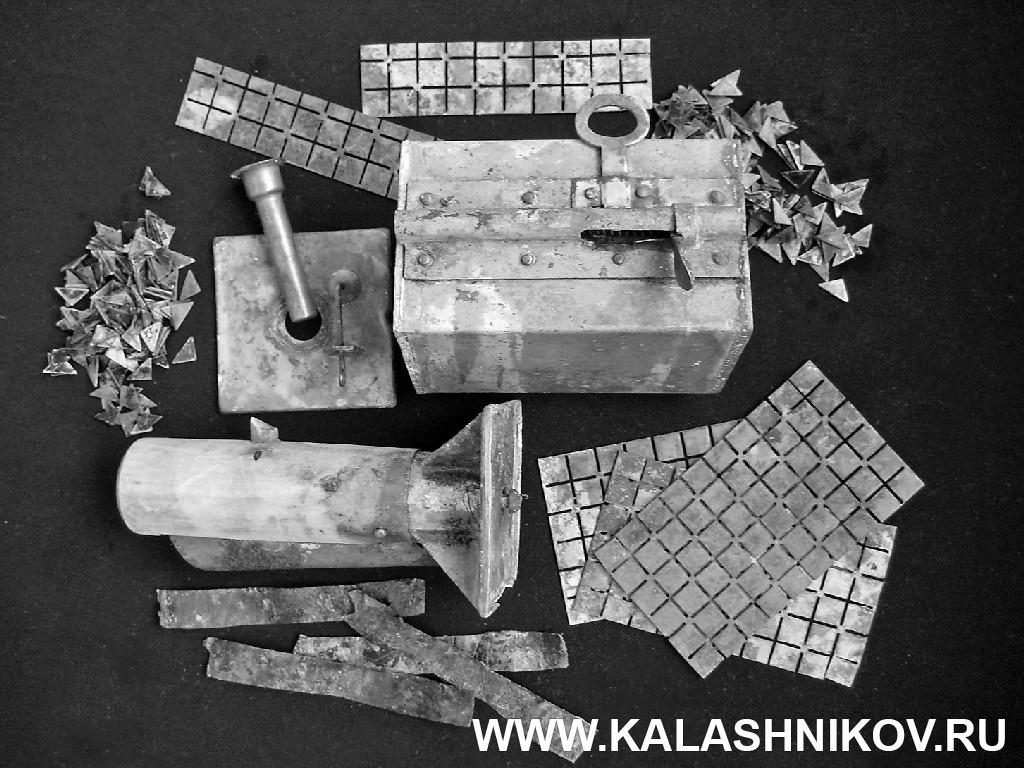 Основные части гранаты образца 1912 года. Журнал Калашников