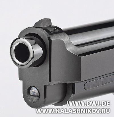 Пистолет Beretta 92FS Fusion Black. Ствол. DWJ. Журнал Калашников
