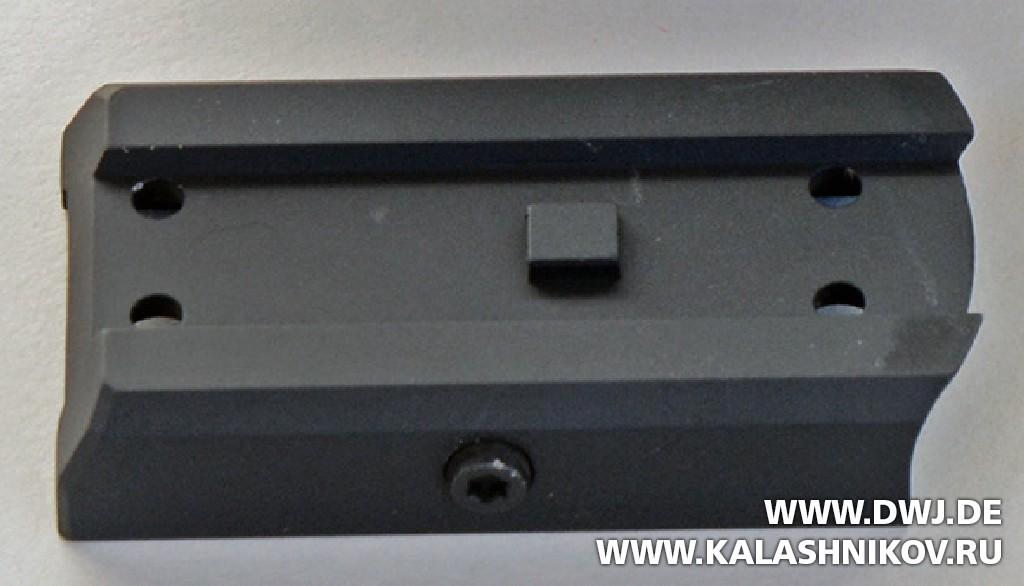 Монтажная пластина коллиматора SIG Sauer electro-optics Romeo 4c. DWJ. Журнал Калашников