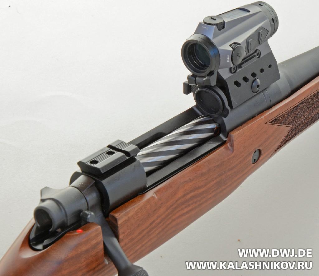 Коллиматор SIG Sauer electro-optics Romeo 4cна винтовке. DWJ. Журнал Калашников