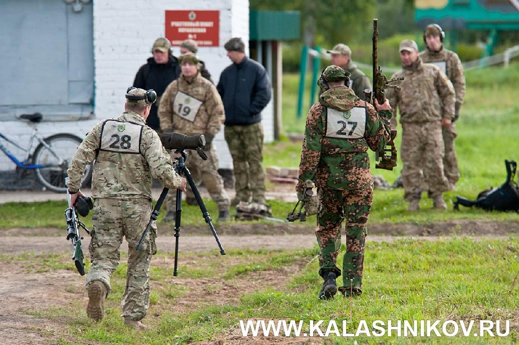 Соревнования снайперов пограничного спецназа 2018. Участники. Журнал Калашников