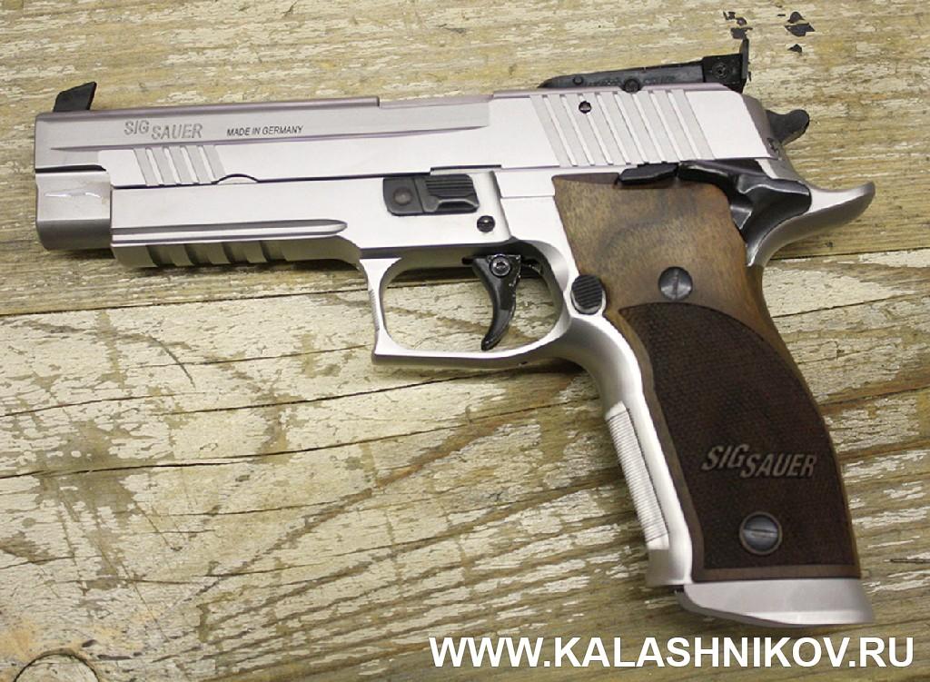 Пистолет SIG Sauer 226 X-Six PPC. Журнал Калашников