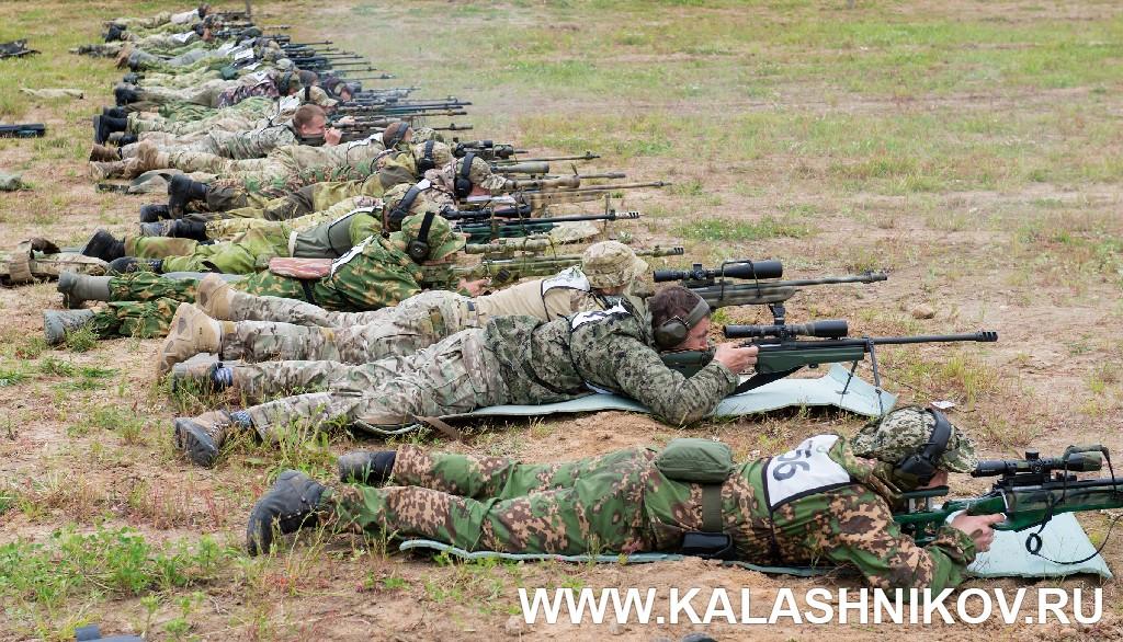Соревнования снайперов пограничного спецназа 2018. Снайперы на стрелковом рубеже. Журнал Калашников