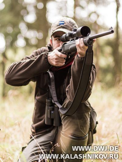 Стрельба из винтовки с оптическим прицелом. Журнал Калашников. DWJ