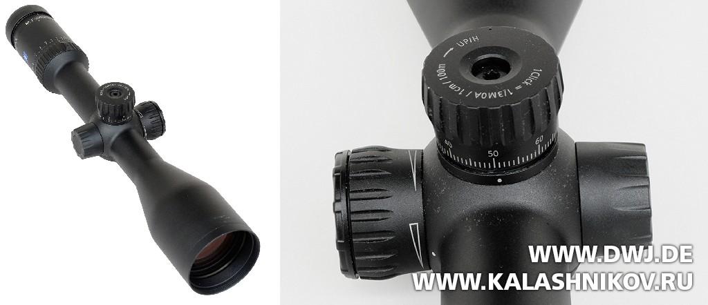 Оптический прицел Zeiss Conquest V6 . Журнал Калашников. DWJ