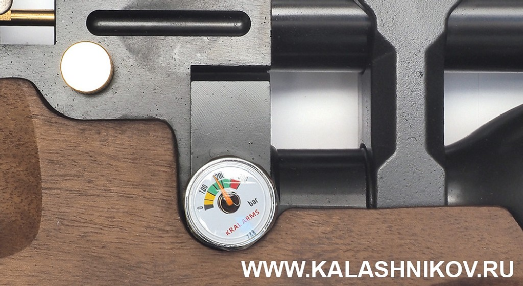 Манометр PCP винтовки Kral Puncher. Журнал Калашников
