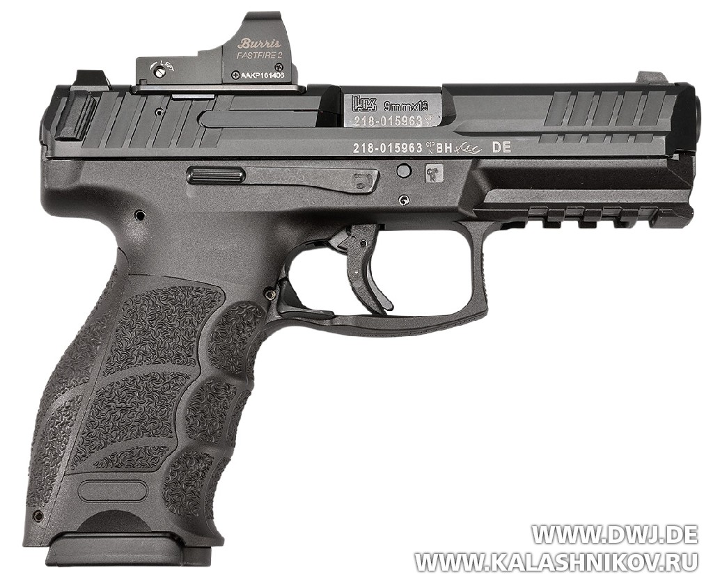 Пистолет HK SFP9 OR. Журнал Калашников
