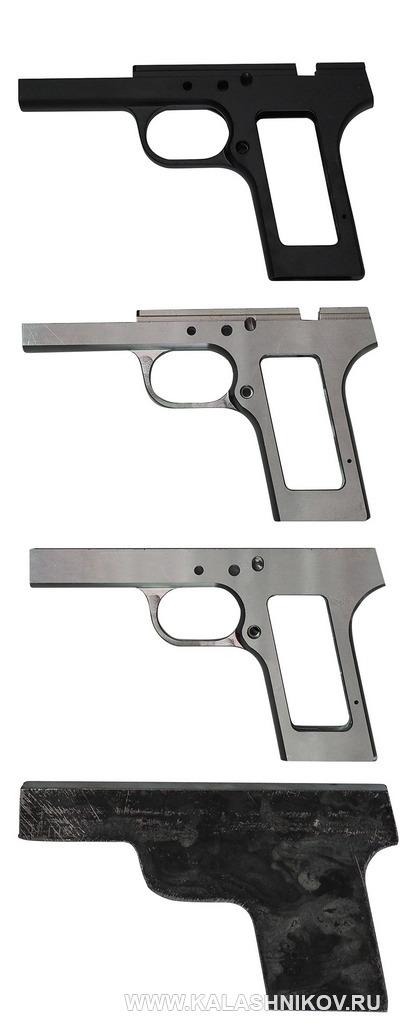Заготовка рамки пистолета ТТК-F. Стадии обработки.  Журнал Калашников