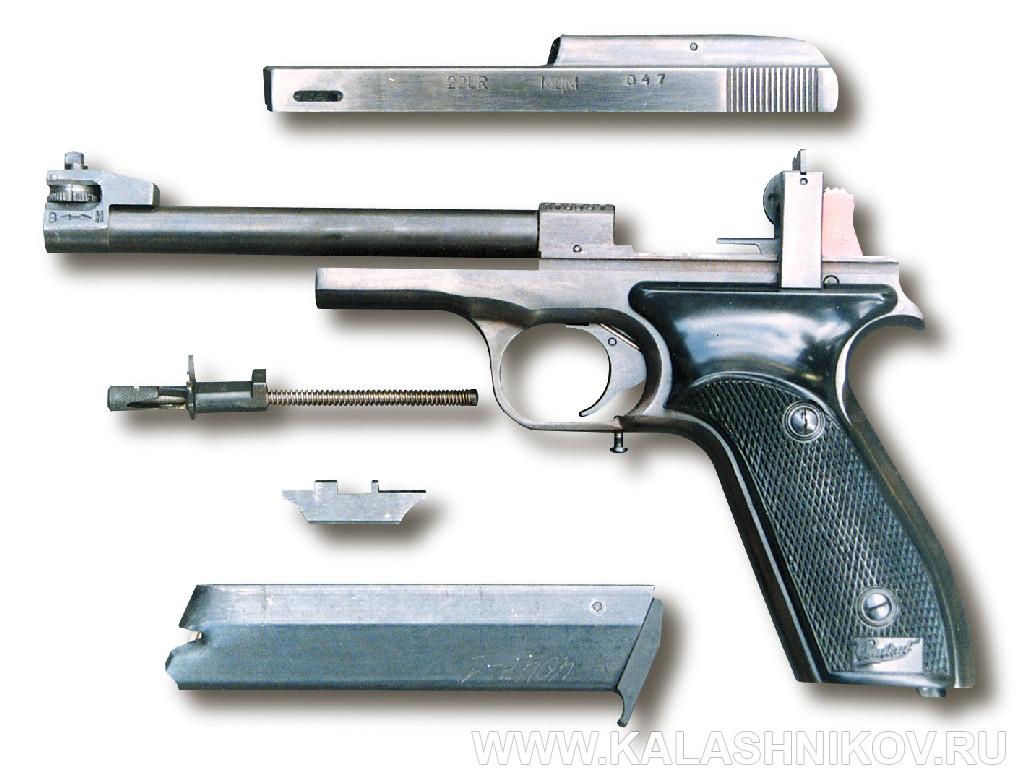 Пистолет МЦМ. Неполная разборка. Журнал Калашников