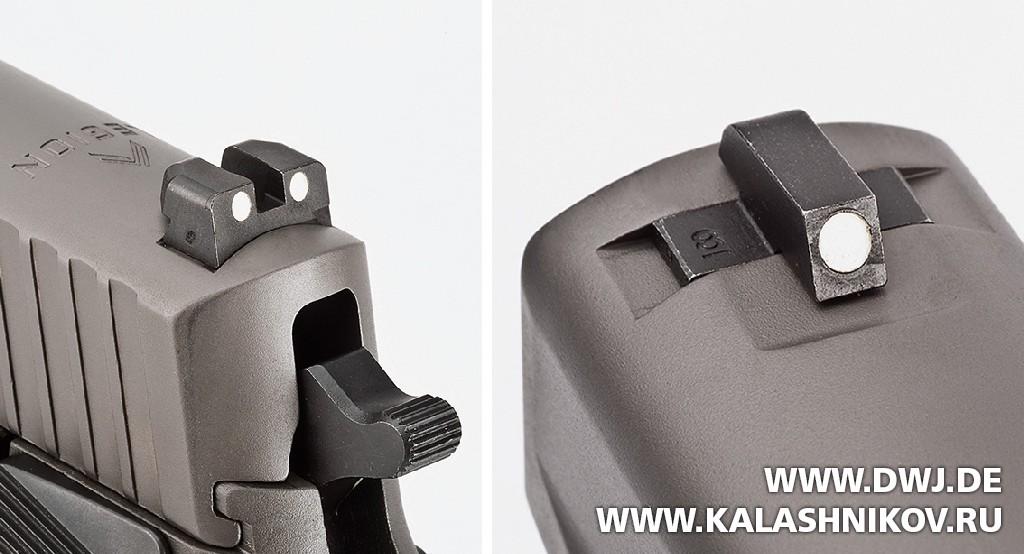 Пистолет SIG Sauer P226 Legion. Прицельные приспособления. Журнал Калашников