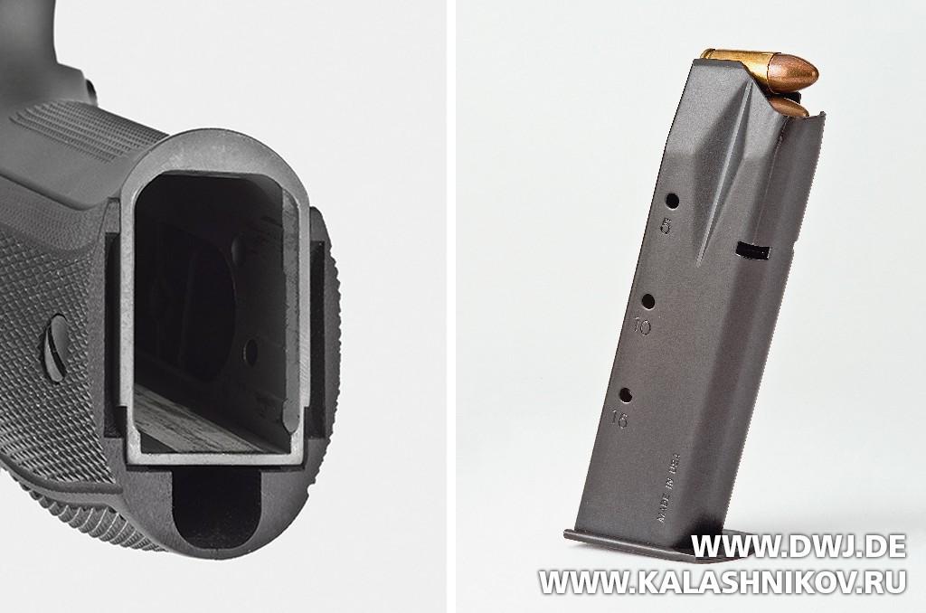 Пистолет SIG Sauer P226 Legion. Магазин. Журнал Калашников