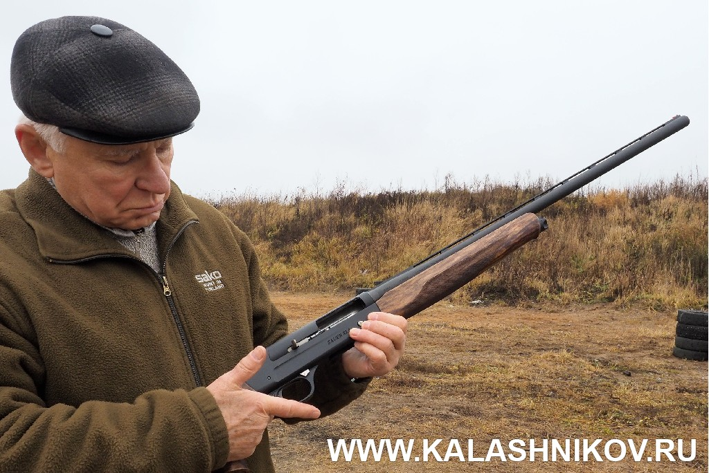Ружьё Sauer SL5 на стрельбище. Журнал Калашников