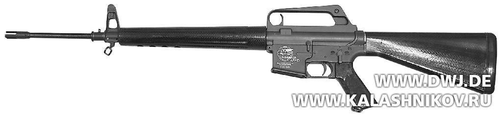 Винтовка AR-15— прототип 1956 г.. Журнал Калашников