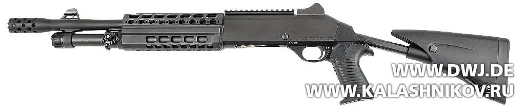 Ружьё Benelli M4 Super 90 AS T1. Журнал Калашников