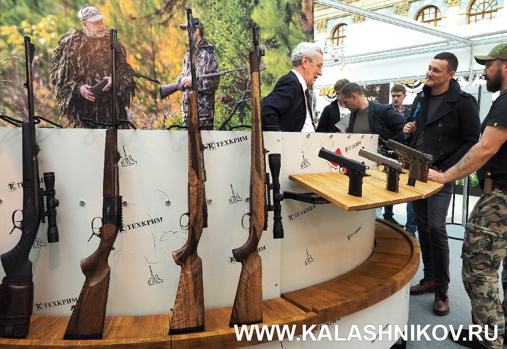 Выставка Arms Hunting 2018. Стенд компании «Техкрим» . Журнал Калашников