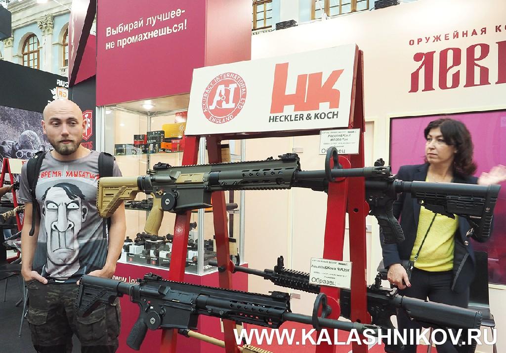 Выставка Arms Hunting 2018. Стенд компании Левша. Журнал Калашников