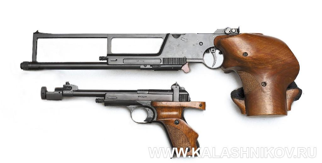 Пистолет Марголина и пистолет МЦ-3 «Рекорд». Журнал Калашников