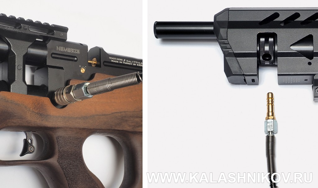 Порт для заправки PCP винтовок Kral. Журнал Калашников