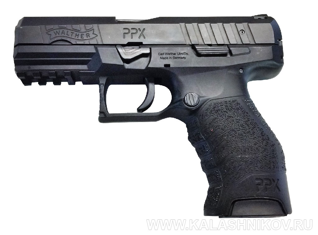 Пистолет Walther PPX. Журнал Калашников