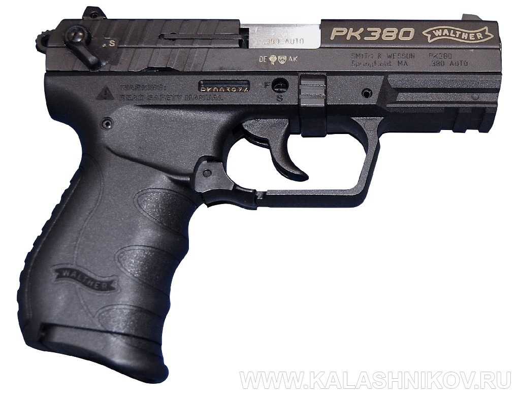 Пистолет Walther PK380. Журнал Калашников