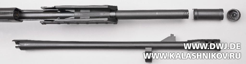 Многозарядное ружьё SDM М870. Неполная разборка. Журнал Калашников