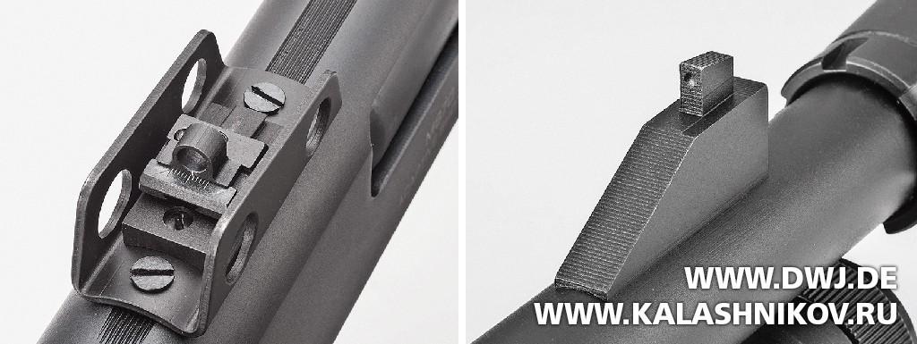 Многозарядное ружьё SDM М870. Прицельные приспособления. Журнал Калашников