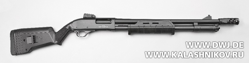 Многозарядное ружьё SDM М870. Журнал Калашников
