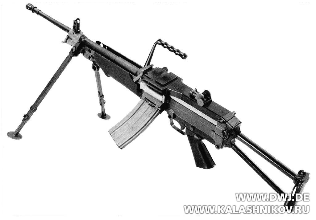 пулемёт FN MINIMI. Журнал Калашников