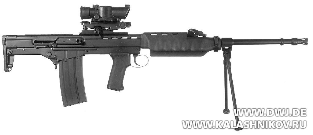Ручной пулемёт XL64E4 LMG. Журнал Калашников